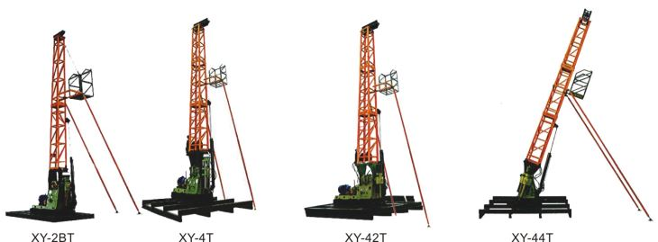 XZY-44T, All-in-One Core Exploration Tower Rig