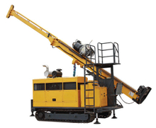 HYDX-5A, Full Hydraulic Core Drill Rig with Crawler Mounted